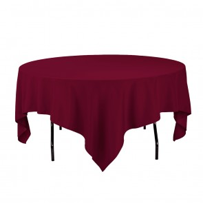 Linen skirting a complete rental for 85 inch tablecloths