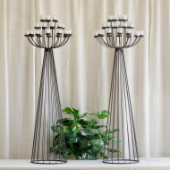 Wrought Iron Candelabras