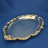 Oval-serving-tray